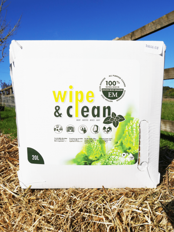 Wipe and clean 20L BIB